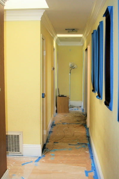 Painting A Hallway Pleasing With IdeaPaint Hallway Images