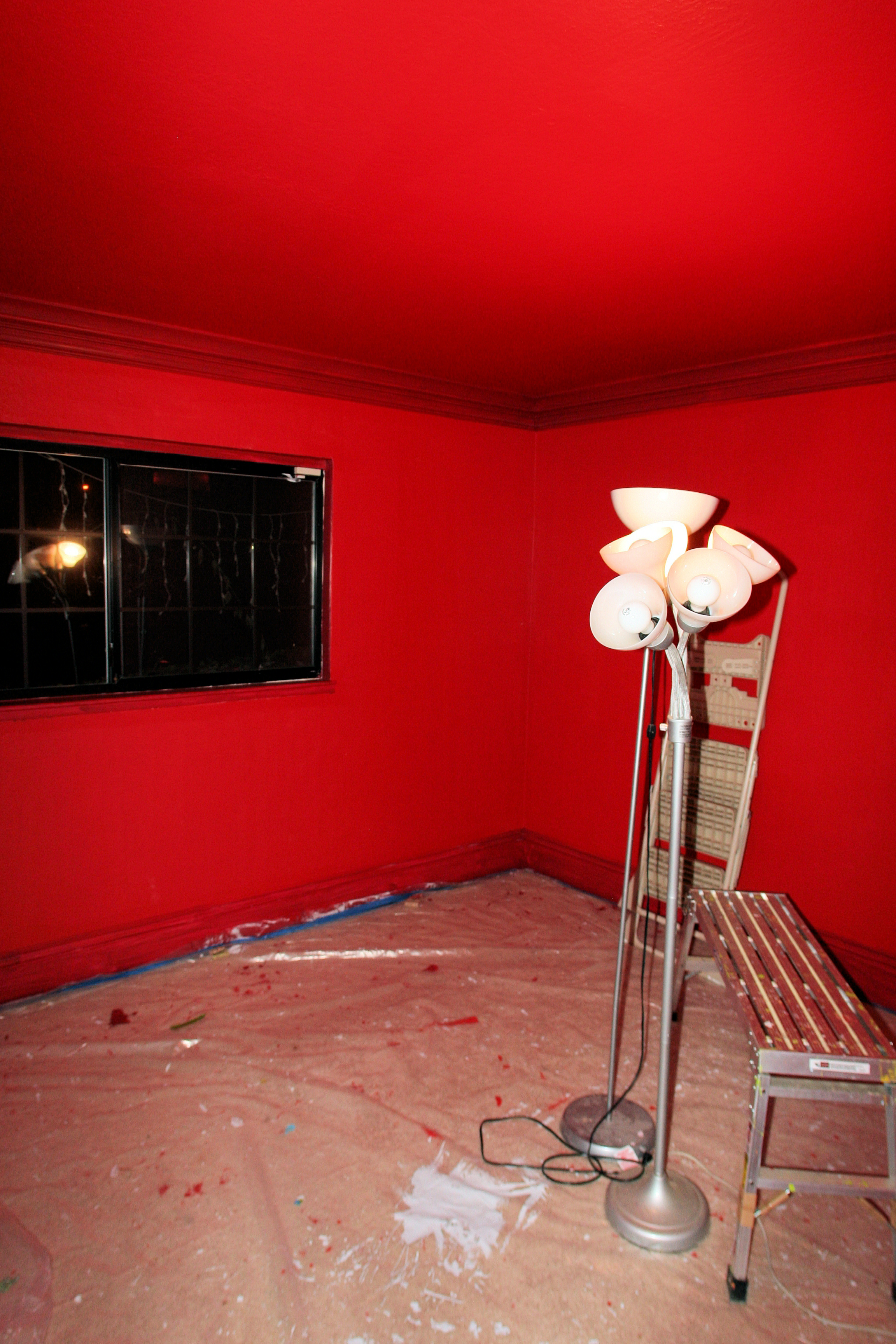 red painted rooms. xwiki - main - housepainting1